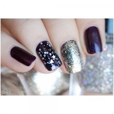 purples + silver