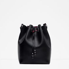 Image 1 of BUCKET BAG WITH DETAILS from Zara