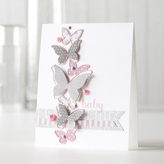 Cotton Candy Color Coordinates gorgeous card by Shari Carroll for Simon Says Stamp. July 2014
