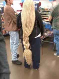 rapunzel......at Walmart