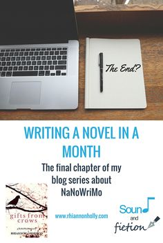 Latest blog: #Writing a novel in a month - the final chapter of my #blog series about #NaNoWriMo (National Novel Writing Month) now on Sound and Fiction  #AmWriting #novels #50000words #challenge #soundandfiction