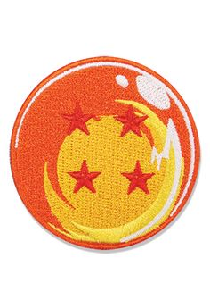 J/&C Family Owned Anime Dragonball Z Red Ribbon Army Logo 3 X 1.75 Embroidered Sew//Iron-on Patch//Applique