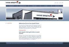 Website Redesign Hans Spaeth GmbH
