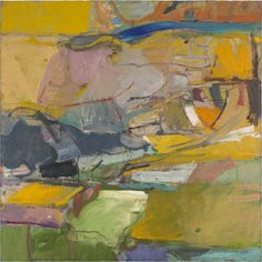"Richard Diebenkorn | Berkeley #57 | 1955 | Oil on canvas | 58"" x 58"""