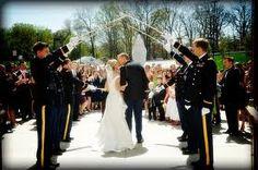 Military Weddings - Pageantry and Patriotism - Bridal Expo Chicago + Milwaukee Military Wedding Pictures, Army Wedding, Wedding Bride, Wedding Ceremony, Wedding Photos, Dream Wedding, Military Weddings, Fantasy Wedding, Military Love