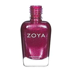 Britta: A berry metallic with a red and purple, fuchsia flash Zoya Nail Polish has the hottest shades for all seasons and skin types, they're also the longest wearing lacquer formulation in the world