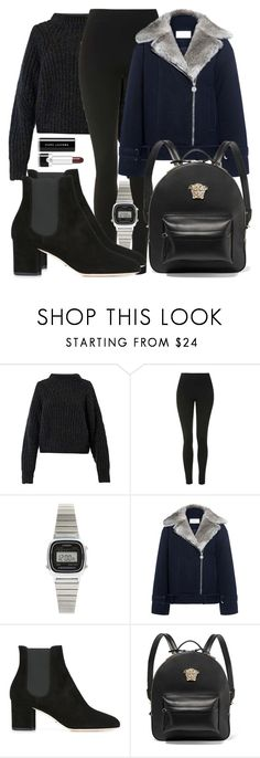 """""""Untitled #5069"""" by beatrizvilar on Polyvore featuring Isabel Marant, Topshop, Casio, Carven, Dolce&Gabbana, Versace and Marc Jacobs"""