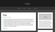 A Fully Responsive Blog Template...