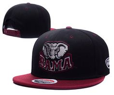 newest collection 530a2 57b4c Alabama Crimson Tide NCAA Zephyr College Snapback Hats Black Wine only US 6.00  - follow me to pick up couopons.