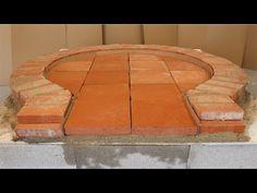 Construction four à pain / pizza par un professionnel de A à Z - YouTube