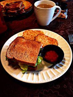 Un rico desayuno BLT