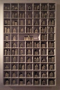 Image result for blue delft bols miniature houses collection