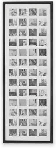 23PCS Multi Picture Photo Frames Wall Gift Set Art Gift Wedding Home Decor Black