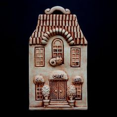 ;) Clay Houses, Ceramic Houses, Bird Houses, Christmas Gingerbread, Christmas Tree Ornaments, Christmas Gifts, Pottery Houses, Air Dry Clay, Little Houses