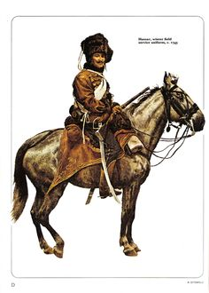Austria- Hussar Winter Field Uniform 1743