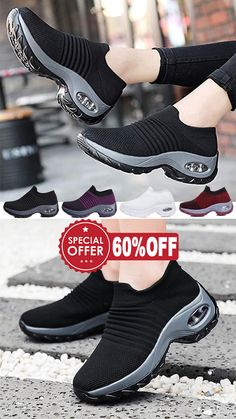 The most stylish walking shoes Women& socks sneakers 2020 Sock Shoes, Cute Shoes, Me Too Shoes, Shoe Boots, Shoes Sandals, Shoes Sneakers, Platform Sneakers, Adidas Shoes, Slip On Shoes