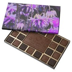 floral box of chocolates for Mother's Day