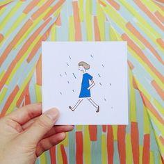 柄の名前は野菜スティック! こんな可愛い柄の傘があれば雨の日が待ち遠しい!