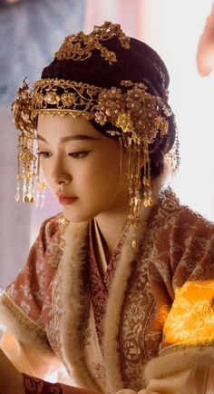 Oriental Fashion, Oriental Style, Empress Ki, Evil Witch, Beautiful Chinese Girl, Space Girl, Ancient China, Movie Costumes, Hanfu