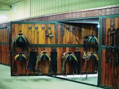 Barn Building Tack, Feed and Other Rooms « Best Horse Stalls – Classic Equine Equipment Dream Stables, Dream Barn, Tack Room Organization, Horse Tack Rooms, Schreck, Classic Equine, Barn Renovation, Horse Stalls, Barn Plans