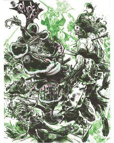 Yi Sun Sin, Kim Jung, Concept Art, Manga, Drawings, Artwork, Instagram, Comic, Artists