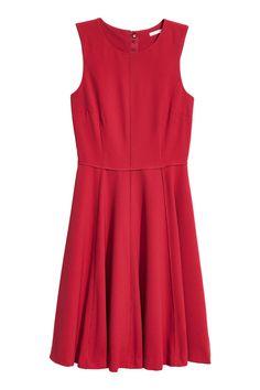 Платье без рукавов - Красный - Женщины | H&M RU 2