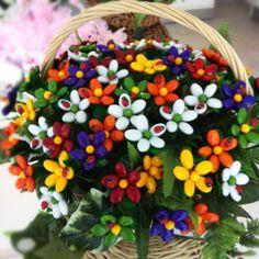 Sulmona sugared almonds flowers