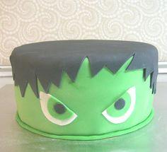 Incredible Hulk Cake---Image Only Hulk Birthday Cakes, Hulk Birthday Parties, Birthday Ideas, 8th Birthday, Incredible Hulk Party, Hulk Cakes, Superhero Cake, Cakes For Boys, Party Cakes