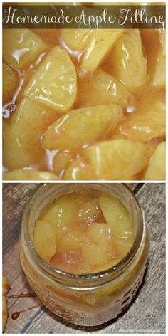Homemade Apple Filling - Hugs and Cookies XOXO
