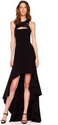 ShopStyle: Michael Kors High-Low Hemline Gown