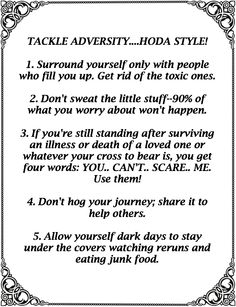 """A quote by Hoda Kotb who is co-anchor of the fourth hour of TODAY as well as a correspondent for """"Dateline NBC."""" I ran across this and thought it was worth saving."""