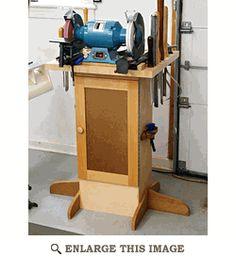 Sharpening Station Woodworking Plan