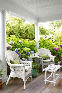 Beach House Porch  - CountryLiving.com