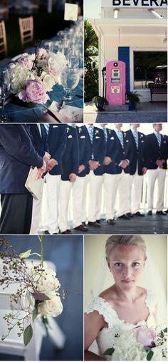Preppy wedding! Love love love it!