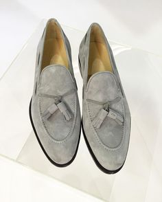 01180f3a706 How about these super soft grey suede loafers to rock this weekend . Find it