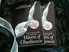 If you loved 50 Shades of Grey then Haven of Obedience is your next must read!  Equally naughty and just as nice ;)  Repin this picture for a chance to win a copy! (I'll pick a repin at random and contact you for your address).