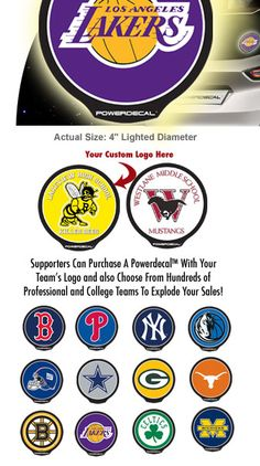 Powerdecal Fundraising