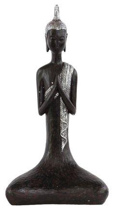 Polyresin Meditating Buddha Figurine