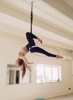 Aerial Hoop, Aerial Arts, Aerial Silks, Aerial Acrobatics, Poses, Pole Dance, Stunts, Yoga Fitness, Pilates