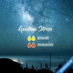 Goodbye Stress - Essential Oil Diffuser Blend