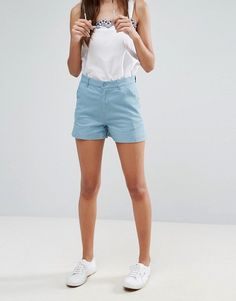 ASOS Blue Chino Shorts