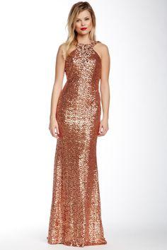 Sequin Gown by La Femme on @HauteLook