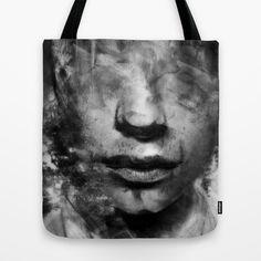 Head Blur  Tote Bag by Mark Francis Williams