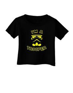 TooLoud I'm A Trooper Infant T-Shirt Dark