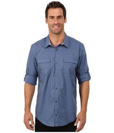 CALVIN KLEIN End On End Dobby Grid Woven Shirt. #calvinklein #cloth #shirts & tops