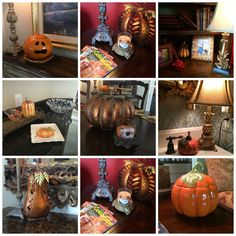 Mix and Match Family: Fifty Two Shades of Shay: Decorating for Fall (at the new house!)