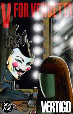 V for Vendetta cover by UnholyGrave on DeviantArt V For Vendetta Comic, Ideas Are Bulletproof, 2 Movie, Photoshop Cs5, Character Description, Drawing Tools, Fan Art, Deviantart, Comics
