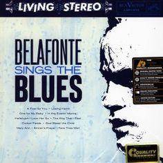 Harry Belafonte Sings the Blues LP Vinil 200 Gramas Analogue Productions Sterling Sound QRP 2015 USA - Vinyl Gourmet