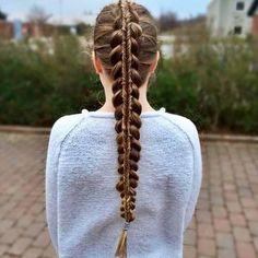 Lovely braided hair