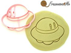 Kirby UFO Cookie Cutter by Francesca4me on Etsy